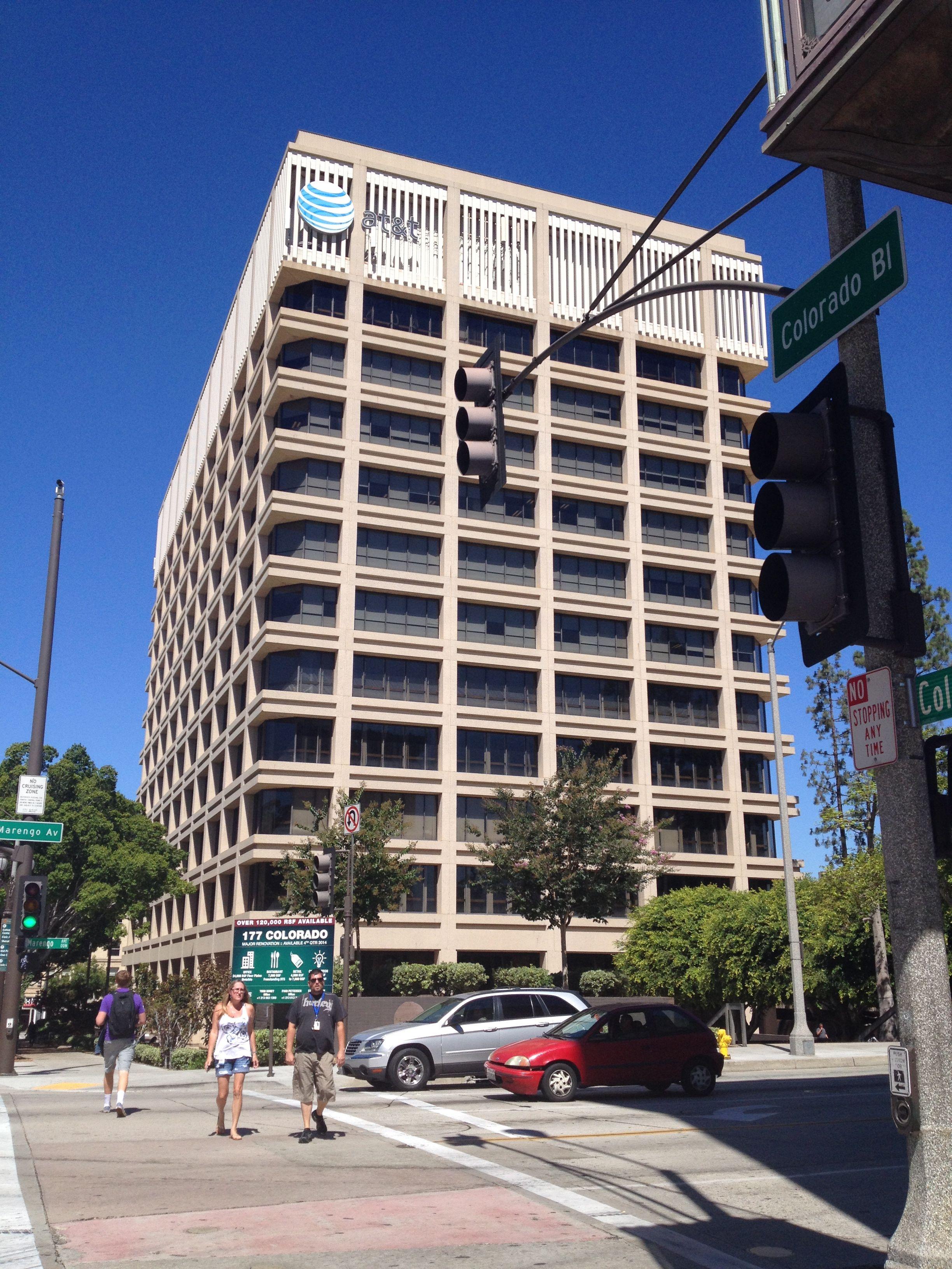 177 E. Colorado Blvd., Pasadena, CA, AKA the AT&T Tower ...
